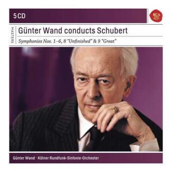 Günter Wand conducts Schubert (5CD)