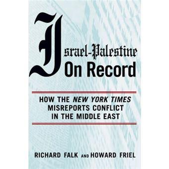 ISRAEL PALESTINE ON RECORD