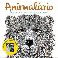 Animalário - Retratos de Animais Para Colorir e Relaxar
