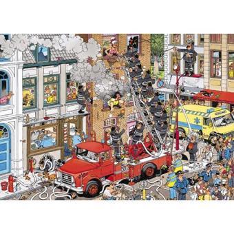 Puzzle Fogo Comics (500 Peças)