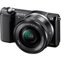 Sony Alpha α5000 + SEL1650 16-50mm f/3.5-5.6 PZ OSS (Preto)