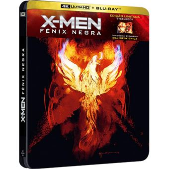 X-Men: Fénix Negra - Steelbook - 4K Ultra HD + Blu-ray