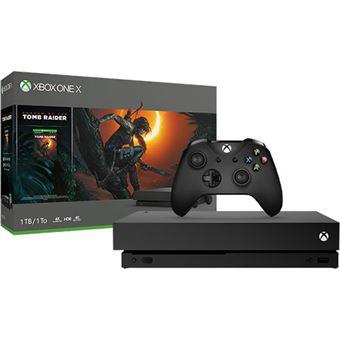 Consola Xbox One X - 1TB - Preto + Shadow of the Tomb Raider