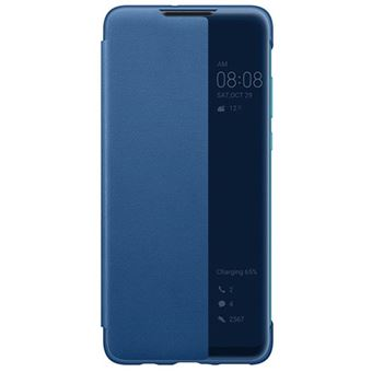 Capa Flip Huawei Smart View para P30 Lite - Azul