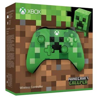 Wireless Controller - Minecraft Creeper - Xbox One