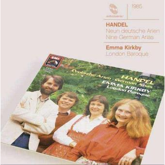 Handel | 9 German Arias Hwv 202-210