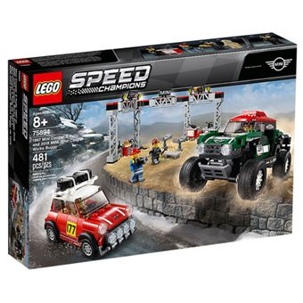 LEGO Speed Champions 75894 - 1967 Mini Cooper S Rally e 2018 MINI John Cooper Works Buggy