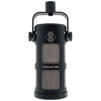Microfone Podcast Pro Black Sontronics