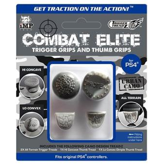 Trigger Treadz Combat Elite Thumb & Trigger Grips Pack (Urban Camo) PS4