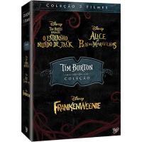 Tim Burton - Coleção de 3 Filmes