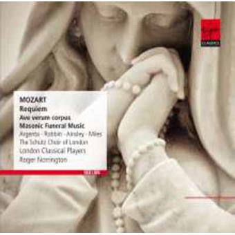 Mozart   Requiem, Ave verum corpus & Masonic Funeral Music