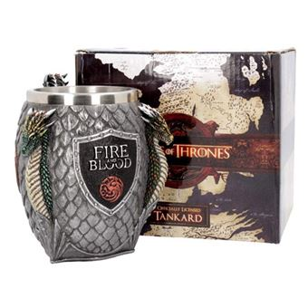Caneca de Cerveja Game of Thrones: House Targaryen
