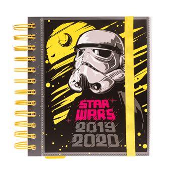 Agenda Escolar Mensal 2019-2020 Star Wars