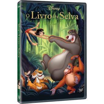 O Livro da Selva - DVD