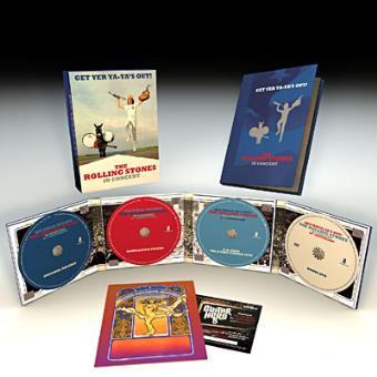 Get Yer Ya-Ya's Out - 40th Anniversary Edition (3CD+DVD)