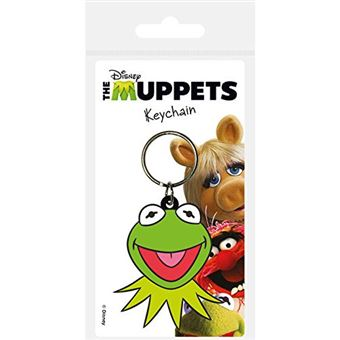 Porta-Chaves de Borracha The Muppets: Kermit Face