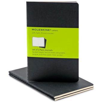 Moleskine: Caderno Liso Bolso Preto