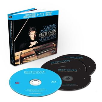 The Piano Concertos - 3CD + Blu-ray