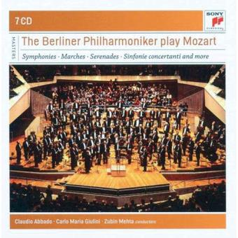 The Berliner Philharmoniker play Mozart (7CD)