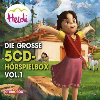 Heidi: die grosse 5-cd..