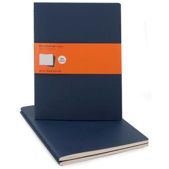 Moleskine: Caderno Pautado XL Azul