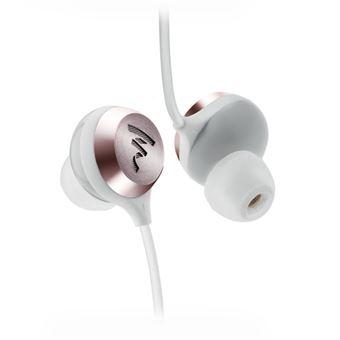 auricular para telemóvel Focal Sphear S  Binaural Intra-auditivo Rosa dourado, Branco