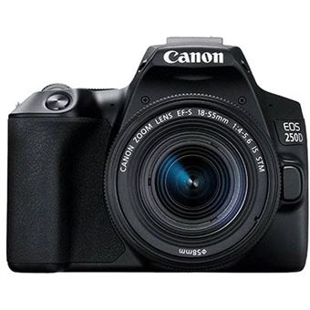 Canon EOS 250D + EF-S 18-55mm f/4-5.6 IS STM - Preto