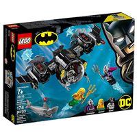 LEGO DC Comics Super Heroes 76116 O Batsubmarino de Batman e o Confronto Subaquático
