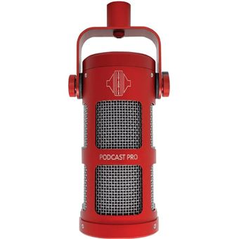 Microfone Podcast Pro Red Sontronics