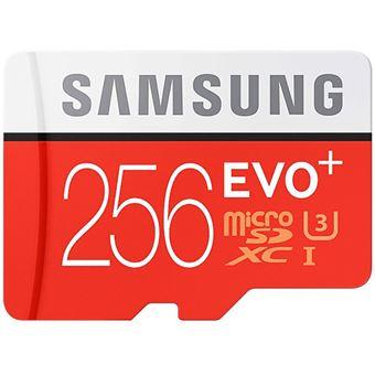 Cartão Memória MicroSDXC Evo+ U3 - 256GB