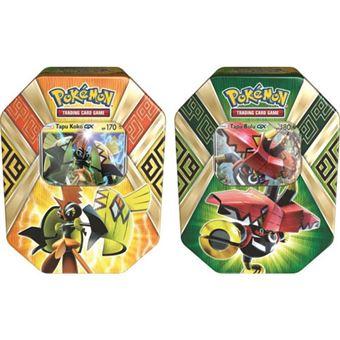 Pokémon Island Guardians Tin Game - Envio Aleatório