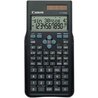 Calculadora Científica Canon F-715G - Preto