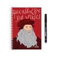 Caderno Infinitebook Pontilhado Da Vinci A5