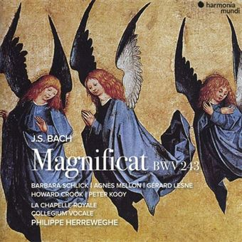 Bach: Magnificat in D major, BWV243 - CD