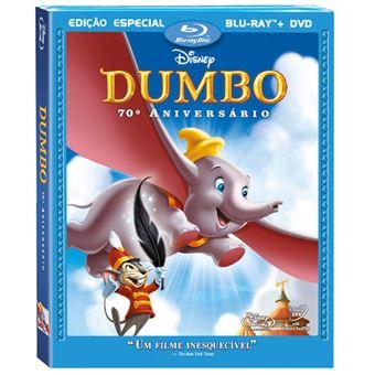 Dumbo 70º Aniversário - Blu-ray + DVD