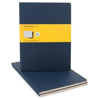 Moleskine: Caderno Quadriculado XL Azul