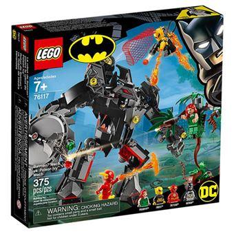 LEGO DC Comics Super Heroes 76117 Batman Mech vs. Poison Ivy Mech