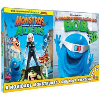 Monstros vs Aliens + A Grande Revelação do Bob 3D