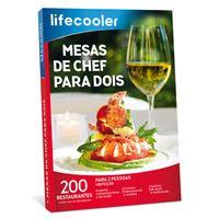 Lifecooler 2021 - Mesas de Chef para Dois