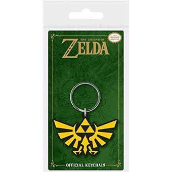 Porta-Chaves de Borracha The Legend Of Zelda: Triforce