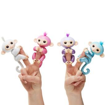 Fingerlings Macacos com Brilhos - Concentra - Envio Aleatório