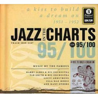 Jazz in the Charts 95 - A Kiss to Build a Dream On 1951-1952