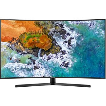 Smart TV Curvo Samsung UHD 4K 55NU7505 140cm