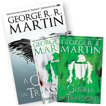 A Guerra dos Tronos: As Crónicas de Gelo e Fogo - Pack 6: A Glória dos Traidores