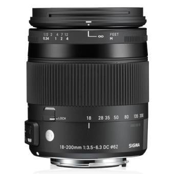 Sigma Objetiva 18-200mm f/3.5-6.3 (C) DC Macro OS (Nikon)