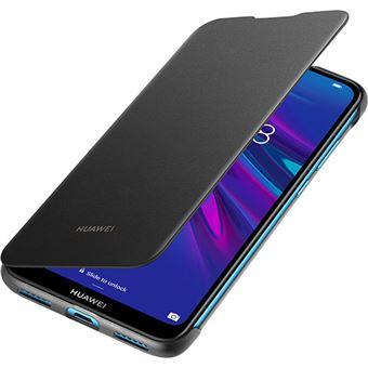 Capa Flip Cover Huawei para Y6 2019 - Preto