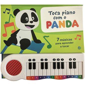 Toca Piano com o Panda