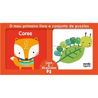O Meu Primeiro Livro e Conjunto de Puzzles: Cores