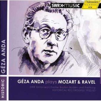 Anda Plays Mozart & Ravel