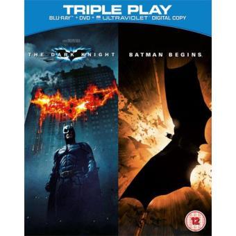 Pack Batman Begins + Dark Knight (Blu-ray + DVD)
